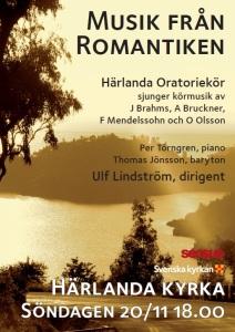 Musik från romantiken Söndagen 20/11 18.00