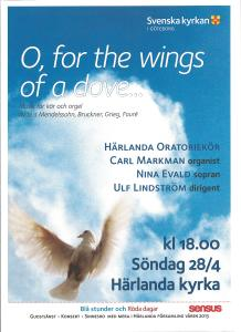 HOK_ O for the wings of a dove