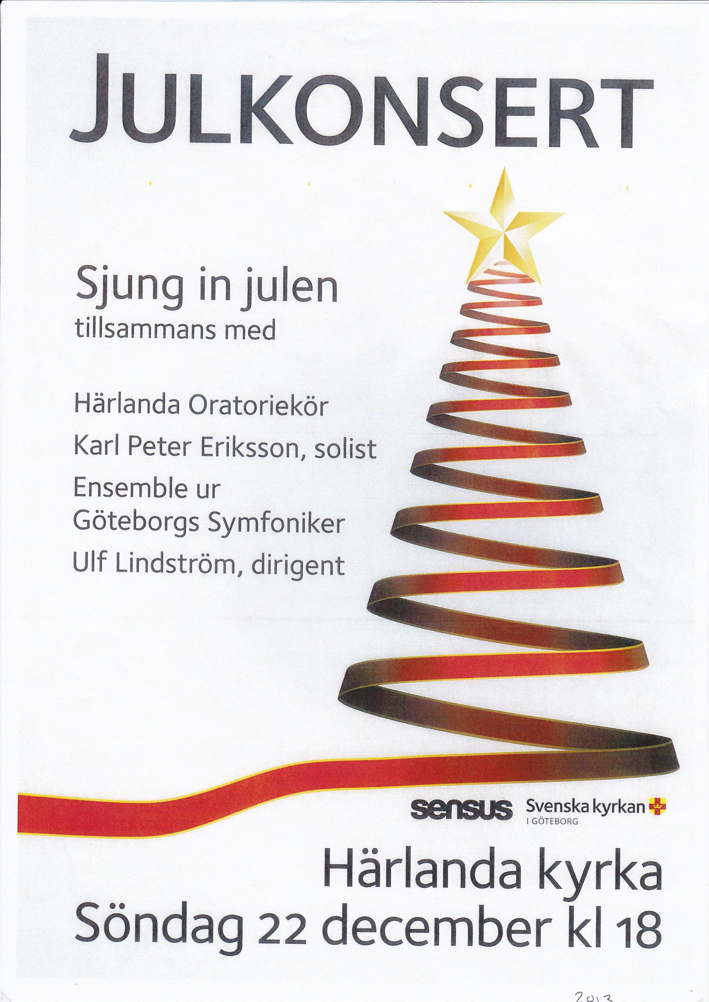 Julkonsert 2013